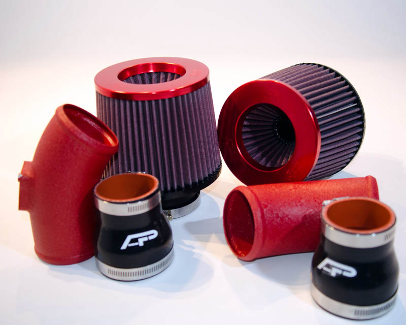 Short Ram Intake System 09-16 Nissan Skyline R35 GT-R R35 Wrinkled Red Agency Power