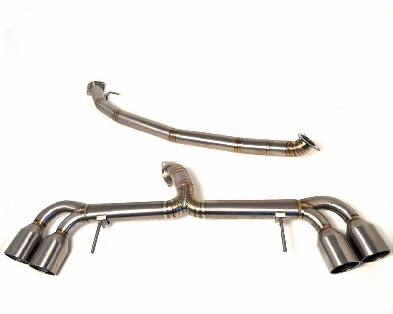 Titanium Exhaust System 09-17 Nissan GT-R R35 Agency Power