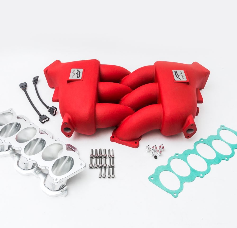 Agency Power Intake Manifold Red Nissan GT-R