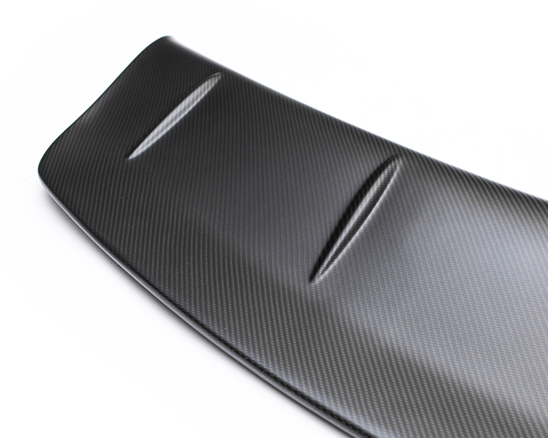 Matte Carbon Fiber OEM Spoiler Blade Add On Gurney Flap 09-17 Nissan GT-R R35 Agency Power
