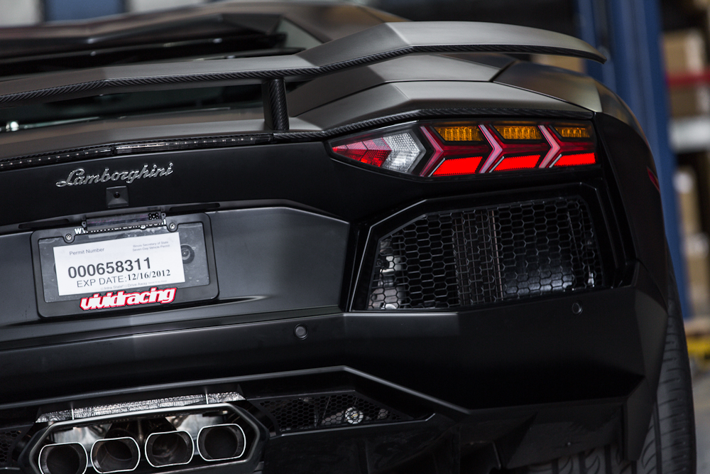 Titanium Exhaust Muffler Lamborghini Aventador LP-700 Agency Power