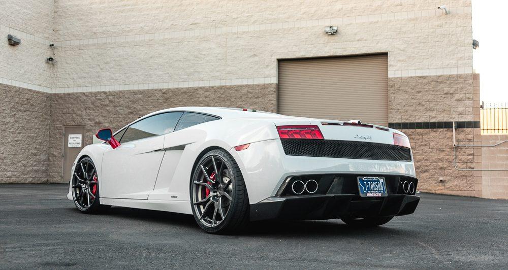 Carbon Fiber Rear Diffuser 08-13 Lamborghini Gallardo LP-560 Agency Power