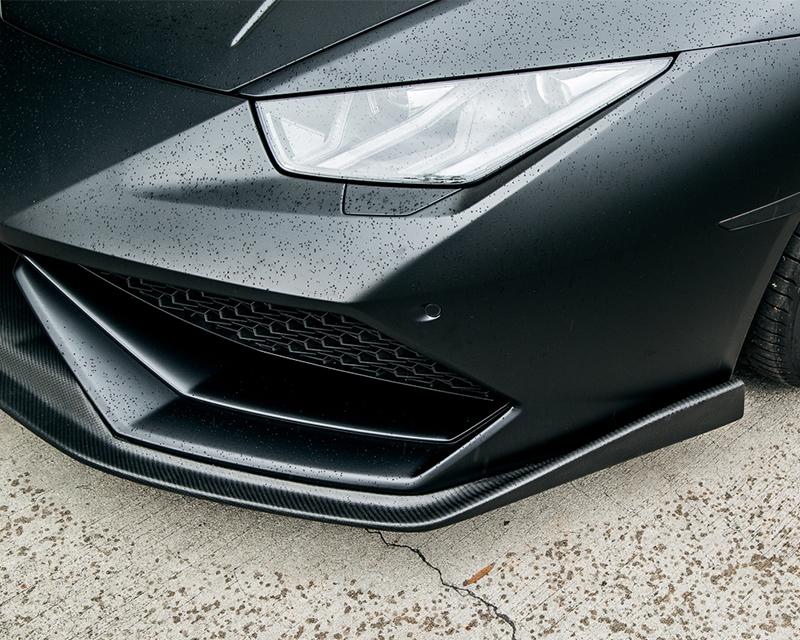 Aeroform Carbon Fiber Front Lip Lamborghini Huracan LP-610 15-17 Agency Power