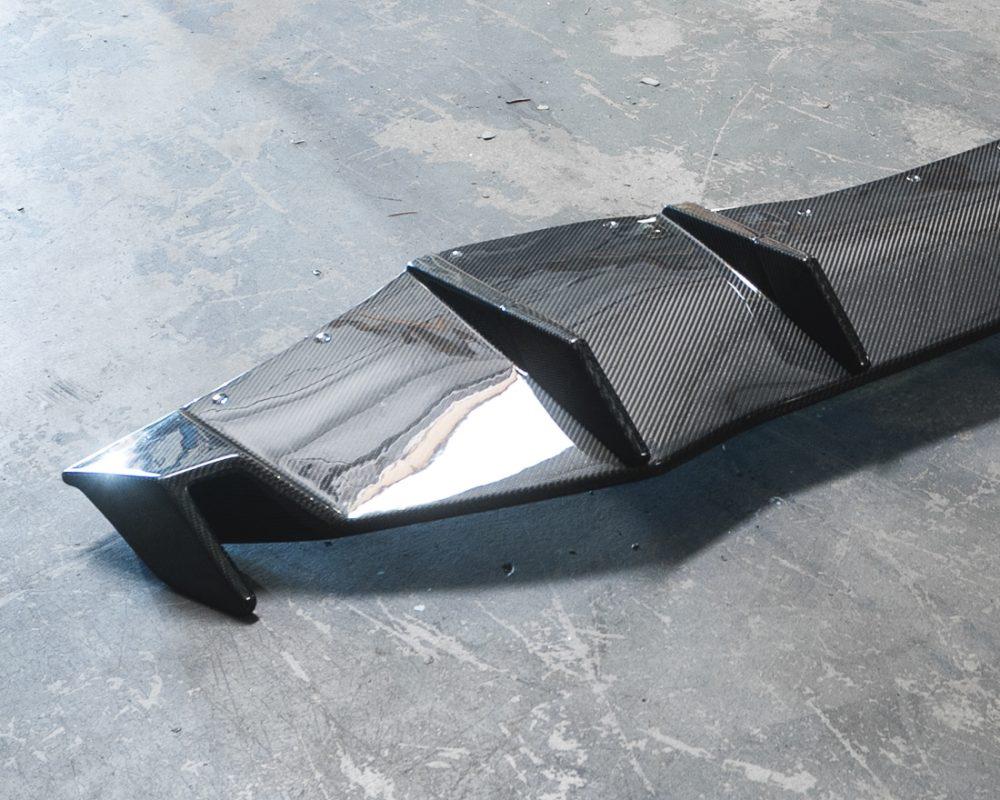 Carbon Fiber Rear Diffuser 15-17 Lamborghini Huracan LP-610 Agency Power