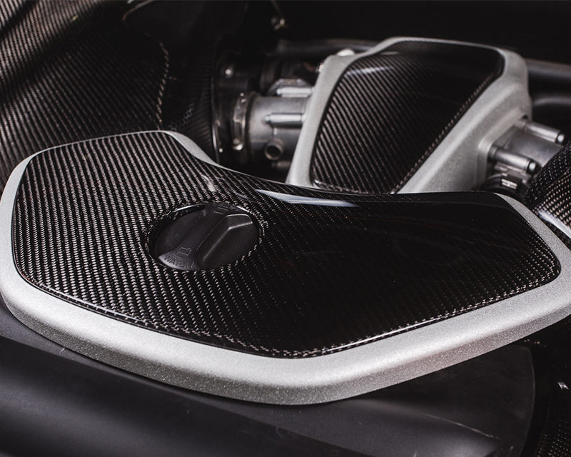 Carbon Fiber Coolant Tank Cover McLaren MP4-12C 12-14 | 650S 15-17 Agency Power
