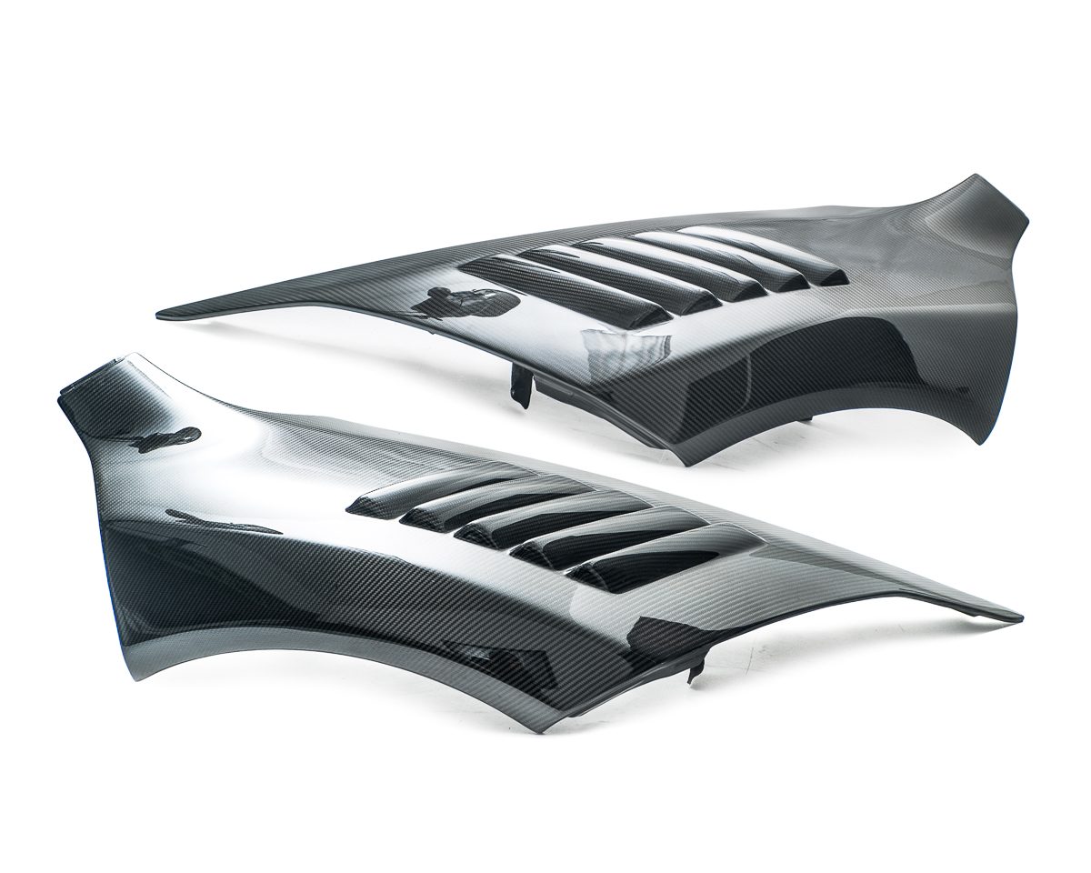 Carbon Fiber Vented Fenders 12-14 McLaren 12c Agency Power