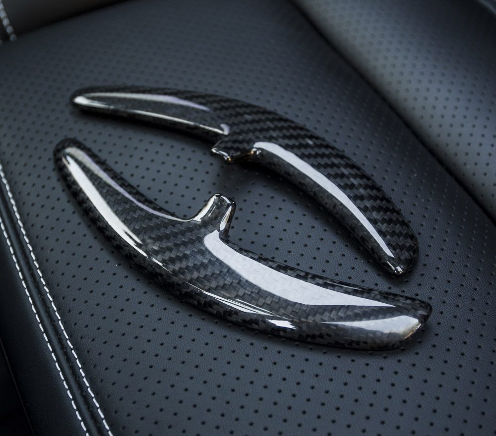 Carbon Fiber Porsche PDK Paddle Shifters Gen 2 Agency Power