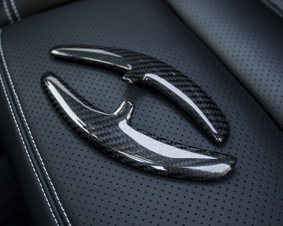 Carbon Fiber Porsche PDK Paddle Shifters Gen 2 Agency Power