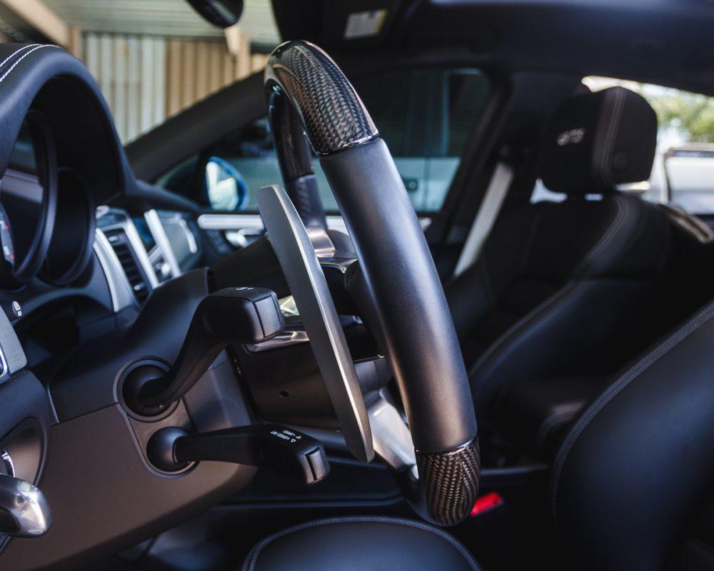 Agency Power Paddle Shifter Extensions Porsche PDK Gen 2 Black