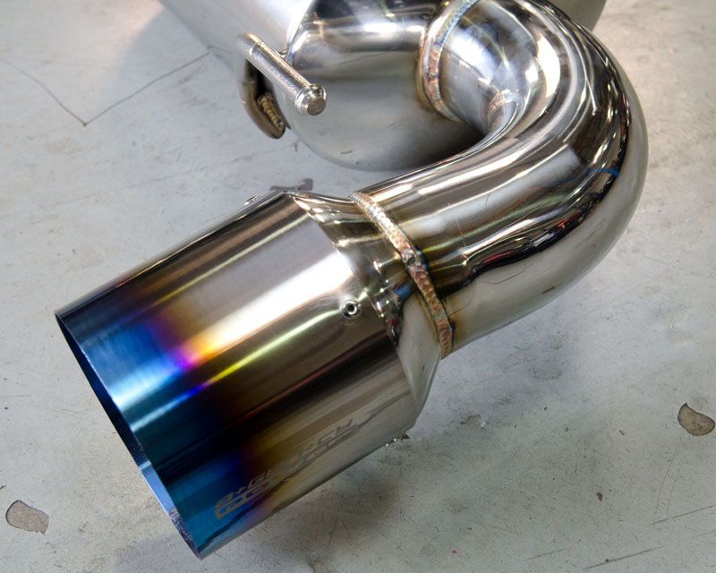 Titainum Tip Catback Exhaust 04-11 Mazda RX-8 Agency Power