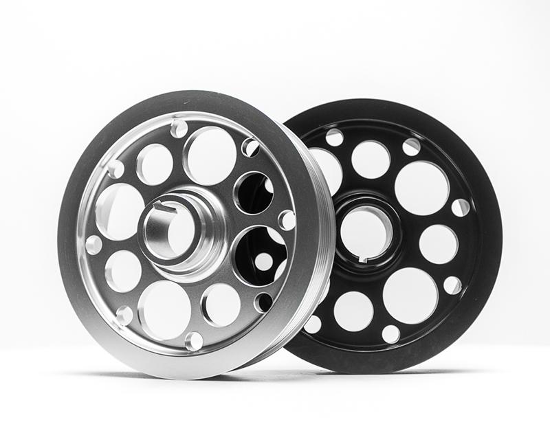 Lightweight Crank Pulley Silver 05-10 Scion TC Agency Power