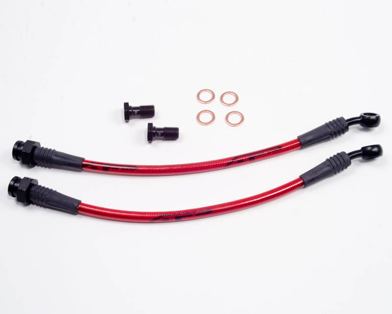Rear Steel Braided Brake Lines 05-10 Scion TC Agency Power