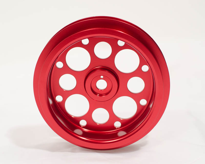 Light Weight Crank Pulley Red 03-07 Scion xB | xA Agency Power