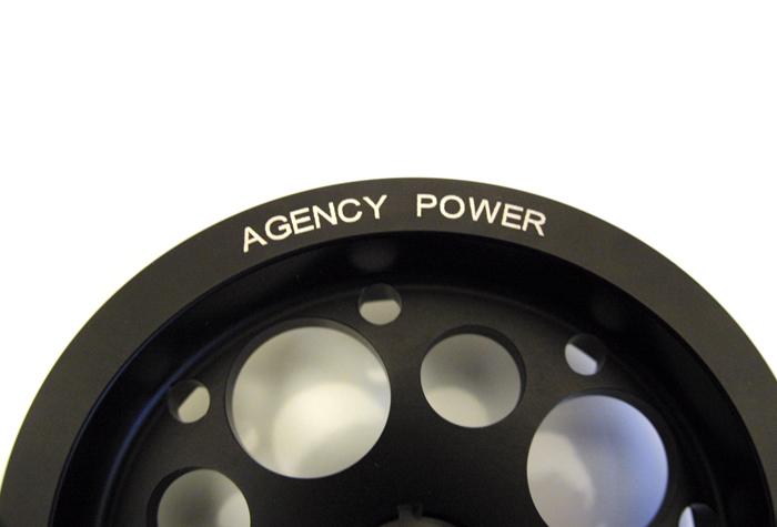 Lightweight Crank Pulley Black 08-15 Scion xB Agency Power