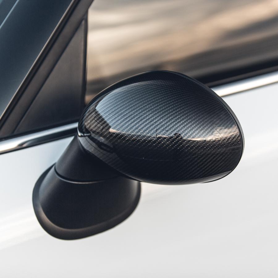 Carbon Fiber Door Mirror Covers Set of 2 Mini Cooper   CountrymanAgency Power