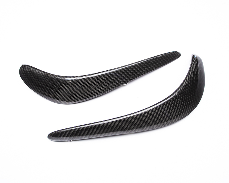 Carbon Fiber Upper Front Bumper Canard Pair SRT Viper Agency Power