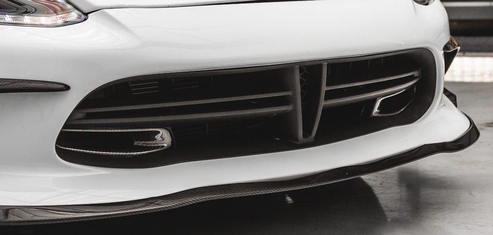 Carbon Fiber Front Brake Ducts Dodge SRT Viper Agency Power