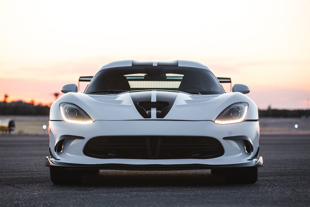Carbon Fiber Front Lip Spoiler 13-17 SRT Viper Agency Power