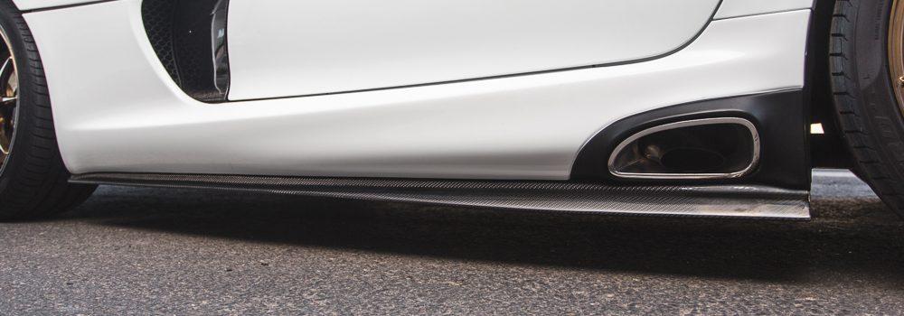 Carbon Fiber Side Skirts FT Style 13-Pres SRT Viper Agency Power