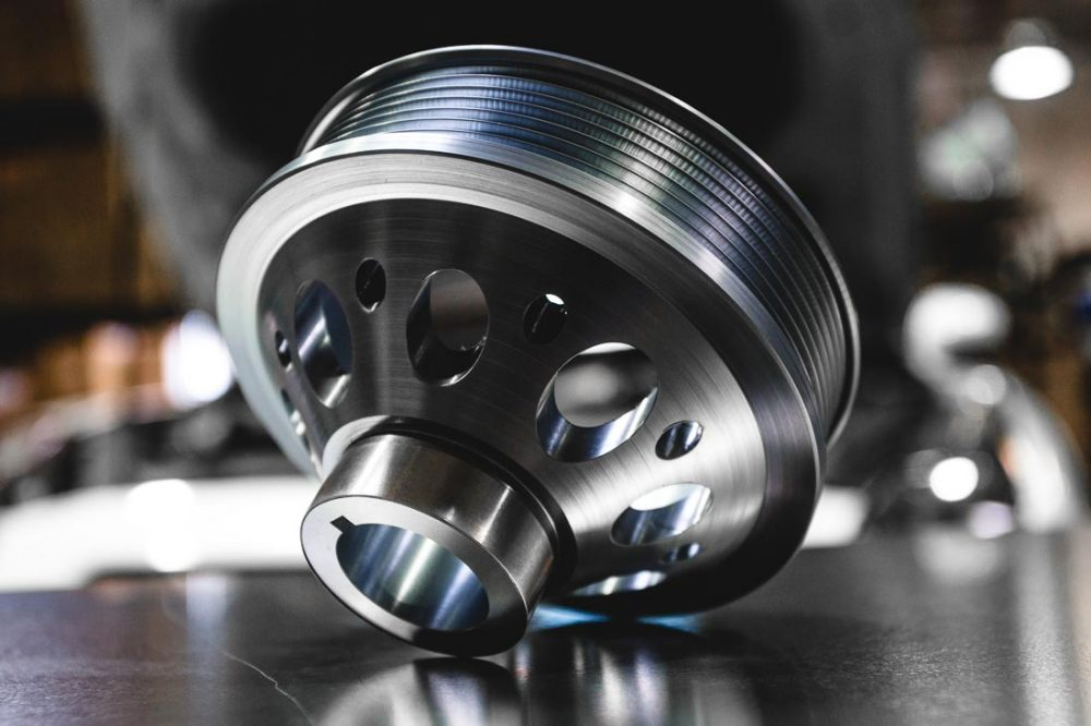 Lightweight Pulley Kit Nissan 370Z Infiniti G37 Agency Power