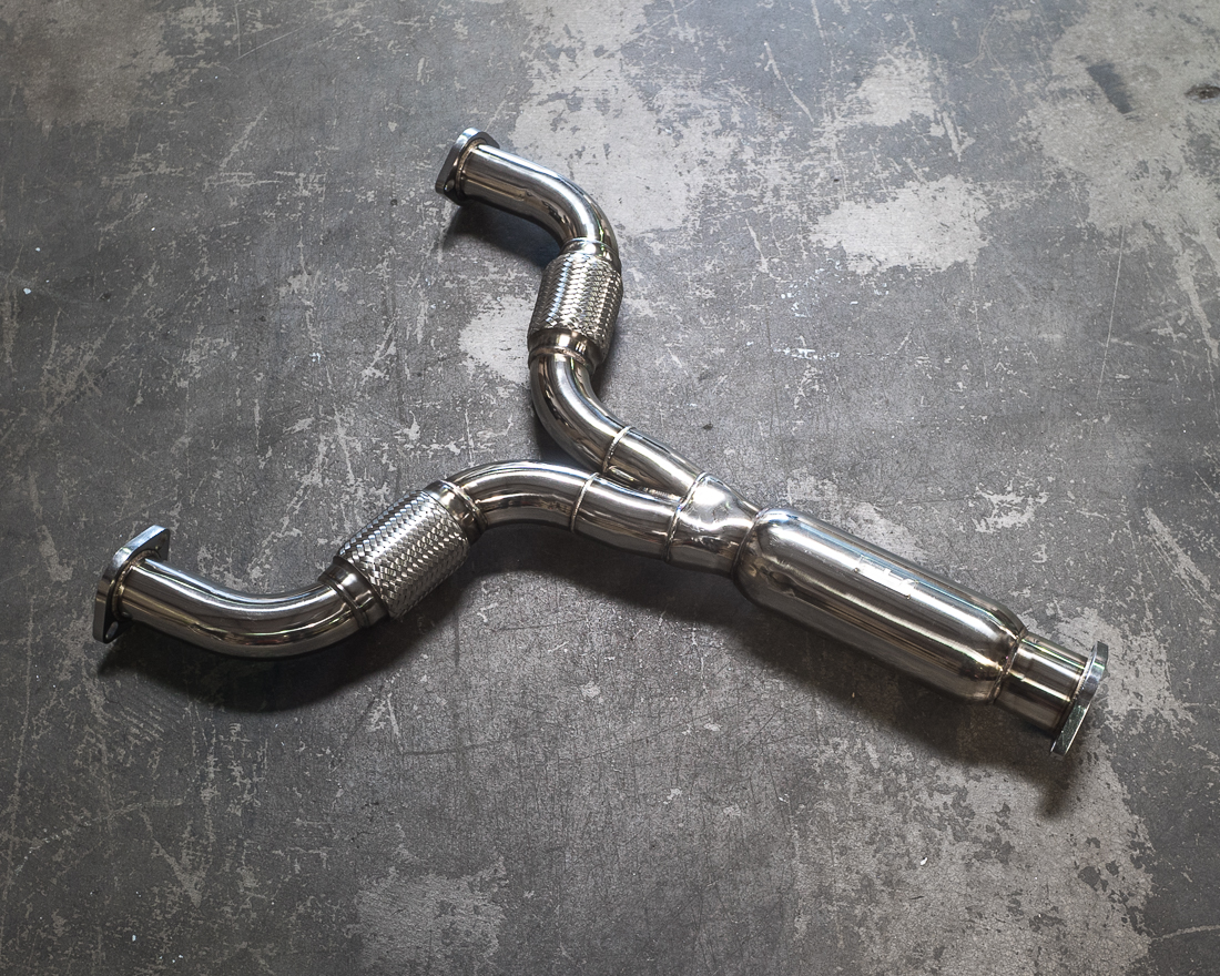 Stainless Steel Y-Pipe Nissan 370z 09-17 | Infiniti G37 09-14 Agency Power