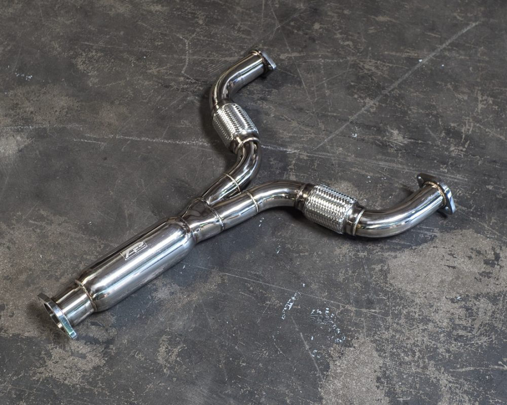 Stainless Steel Y-Pipe Nissan 370z 09-17 | Infiniti G37 09-14 Agency Power
