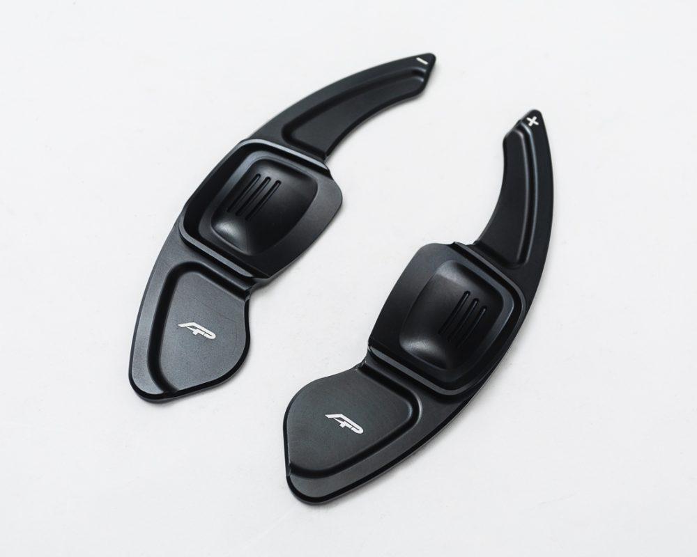 Paddle Shifter Extensions Black 2014 Volkswagen Golf | GTI MK7 Agency Power