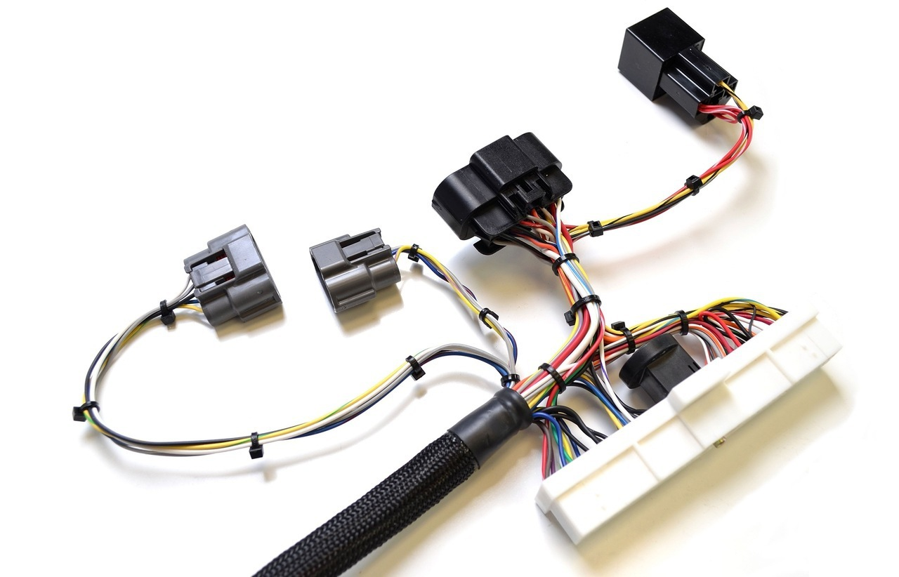 Chase Bays CM1 Engine Harness - Nissan S13 & S14 KA24DE on nissan headlight diagram, nissan radio antenna, nissan connector catalog, nissan titan tow wire connector, nissan coil connectors, nissan connectors and pins, nissan alternator harness,